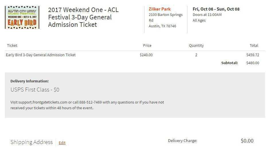 ACL Change Address