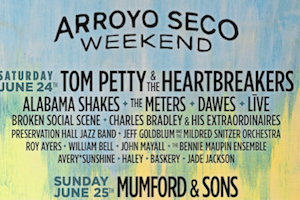 Arroyo Seco Weekend Lineups and Posters