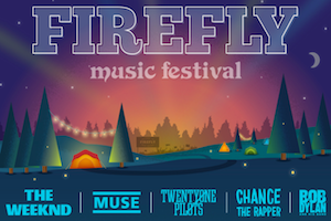 Current & Past Firefly Music Festival Lineups