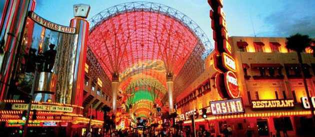 Fremont Street Life Is Beautiful