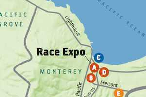 How to Get to the Big Sur Marathon Starting Line