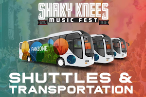 Getting to Shaky Knees: Public Transportation, Biking, Uber