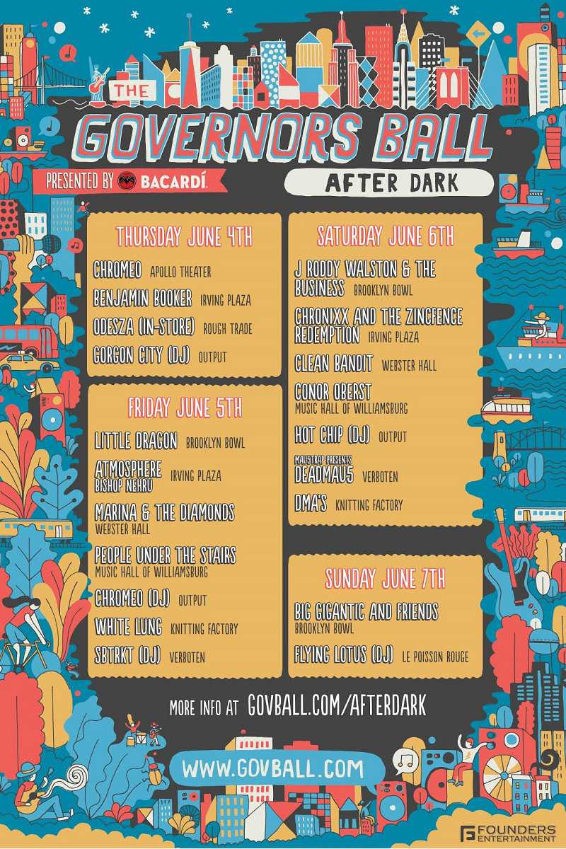 Governors Ball After Parties