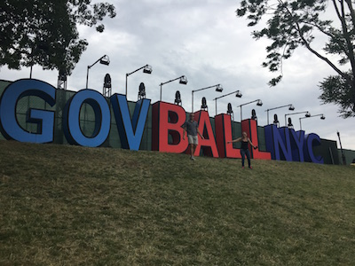 Gov Ball Sign Without Strangers