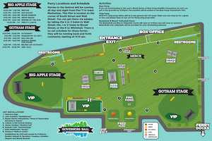 Governors Ball 101 - All The Basic Information!