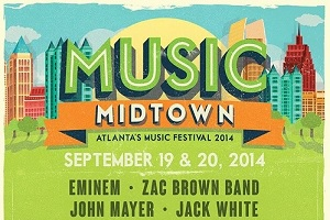 Music Midtown Current & Past Lineup Posters