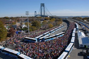 How to get to the New York City Marathon Starting Line
