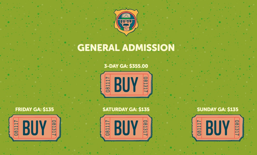 OSL Single Day Tickets 2017