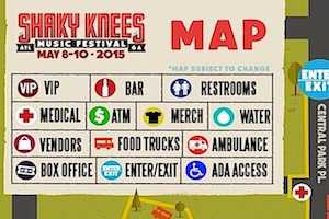 Shaky Knees 101: FAQ, Where Is It, When Is it, How much