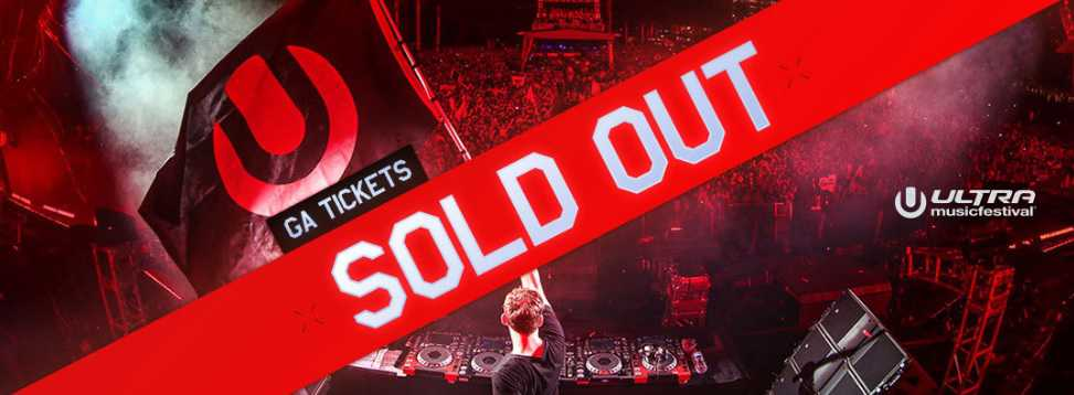 Ultra Sold Out for 2017